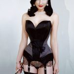 Dita Von Teese Fabric Cloth Poster Print Art Home Decor Sexy Burlesque Lingerie