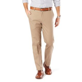 Dockers Men's Easy Khaki D1 Slim Stretch Flat-Front Pants