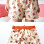 Einfache Damenshorts auch für Anfänger leicht zu nähen PDFSchnittmuster zum Drucken in Gr XS XXL Free sewing pattern for woman pyjama shorts Easy to sew i...