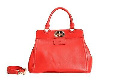 FMT The Isobel red leather handbag  beautiful color Italian leather #fashion #cl…