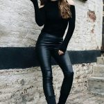 Faux Fur Leather Pants are Awesome!