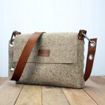 Felt messenger bag, satchel bag for men and women