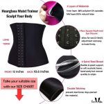Firm Abs Latex Waist Trainer Corset Body Shaper M NWT Firm Abs Latex Waist Train...