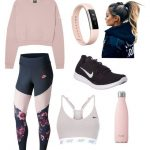 """""""Fitness in Pink"""" by yoitsleann on Polyvore featuring NIKE, S'well and Fitbi"""