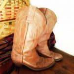 Frye Shoes | Vintage Frye Western Cowboy Boots Men'S 9d  Wm 11 | Color: Tan ...