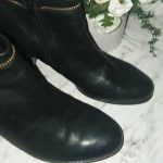 Gabor Leather Booties Fits like a 7 in women but they say size 5. Worn only once...