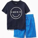 Graphic Pajama Set for Boys