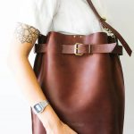 Grizzly Large Leather Bag