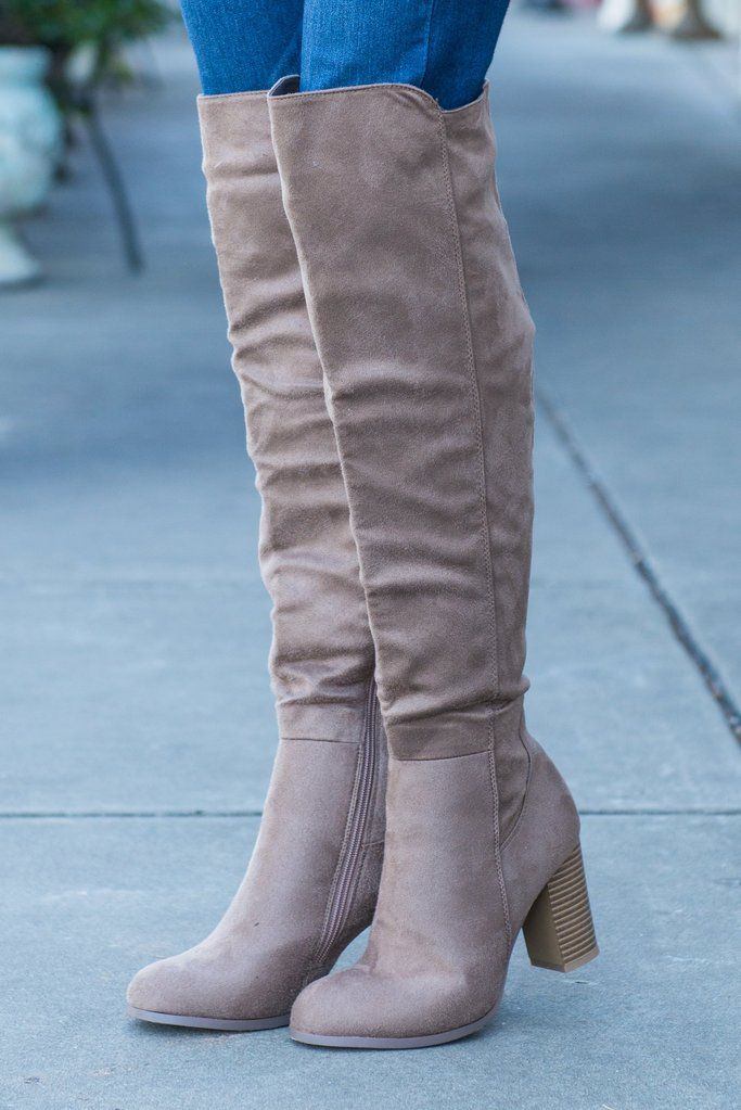 Height Of Fashion Boots,Taupe – Height Of Fashion Boots,Taupe