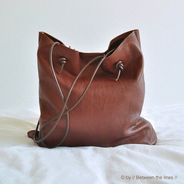 How-To: Quick and Easy Leather Bag