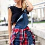 How To Wear Overalls Shorts Casual 67+ New Ideas