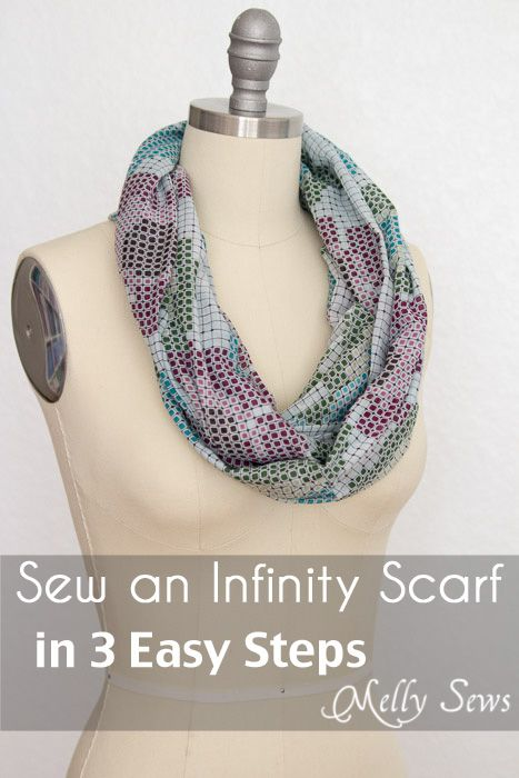 How to Make an Infinity Scarf – in Just 3 Steps