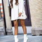 How to Style White Booties Like a Pro