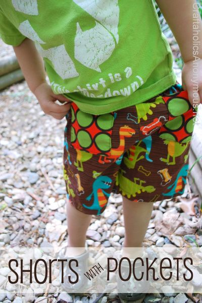 How to sew shorts without a pattern