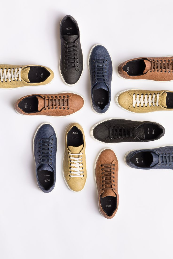 Hugo Boss designs vegan shoes that replace leather with pineapple-based material…