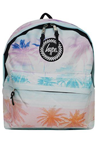 Hype Backpack Bag – Palm Fade Rucksack – Bags & Backpacks For Boys and Girls Wom…