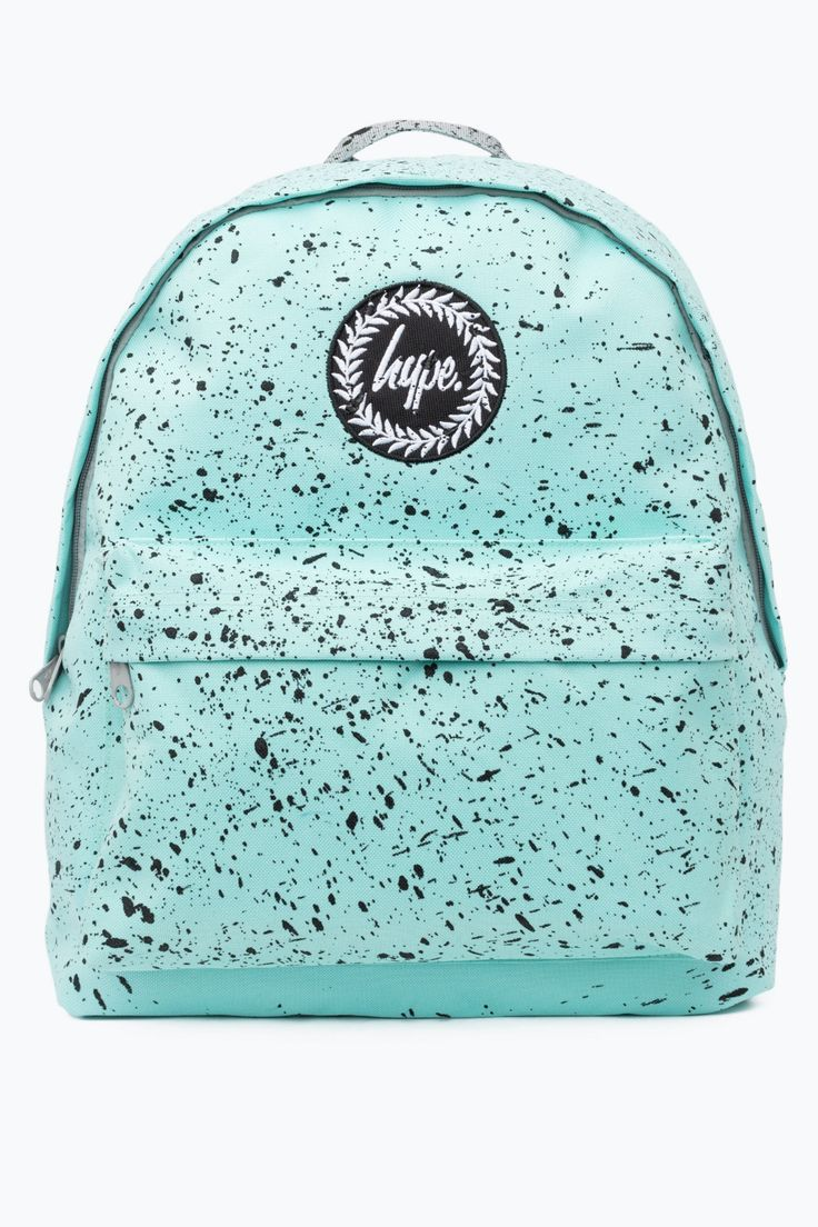 Hype mint with black speckle backpack