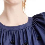 J Crew Perfect Embellished Top NWT! This cute peasant top with embellisments goe...