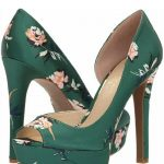 Jessica Simpson Shoes | Jessica Simpson Martella Green Floral Heels 11 Nwt | Col...