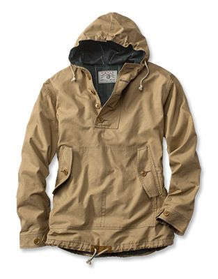 Just found this Hooded Anorak Jacket – Waxed Cotton Anorak — Orvis on Orvis.com…