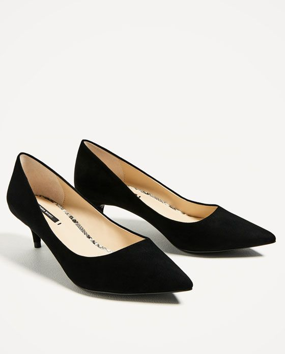KITTEN HEEL SHOES GIVES AMAZING LOOK AS WELL AS RELAXES