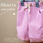Kid Shorts - Free Sewing Pattern & Tutorial