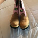 Kids John Deere Boots size 11.5 I bought these for my daughter's birthday whic...