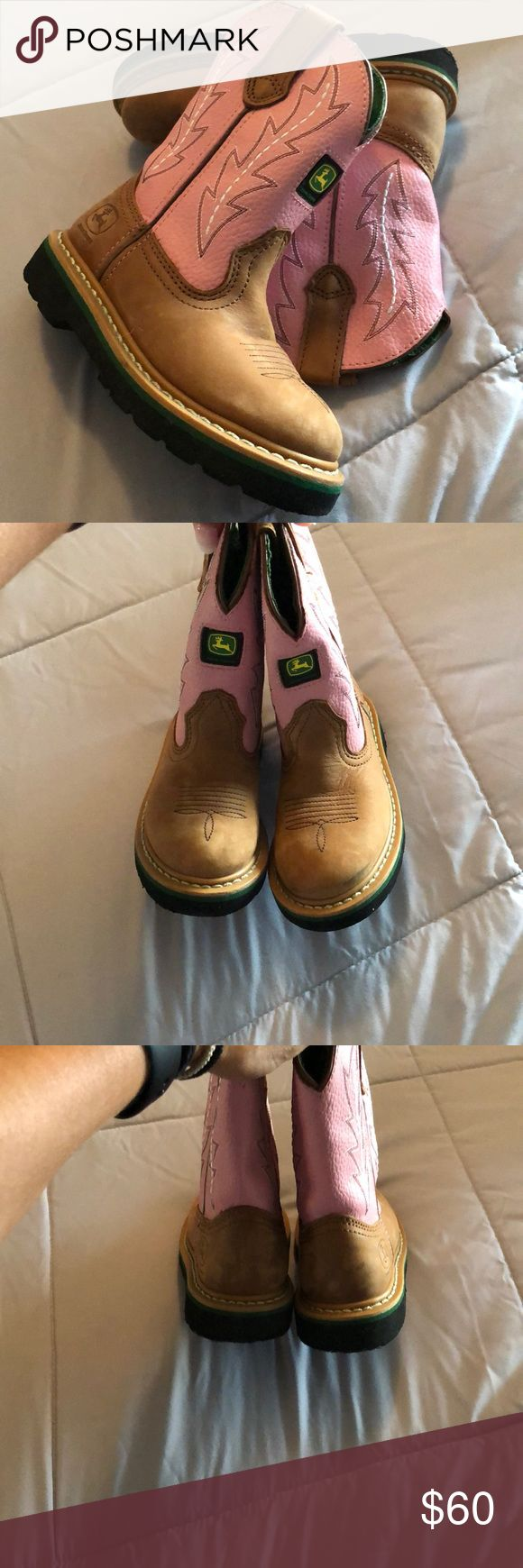Kids John Deere Boots size 11.5 I bought these for my daughter's birthday whic…