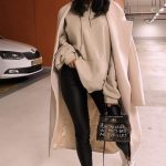 Leather pants, overcoat and hat | Inspiring Ladies