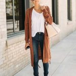 Long Cardigan November Style Fall Outfit İdea