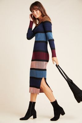 Lorna Midi Sweater Dress by Dolan Left Coast in Assorted Size: 3 X, Women's Dresses at Anthropologie