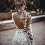 Magical and romantic backless beach wedding dresses