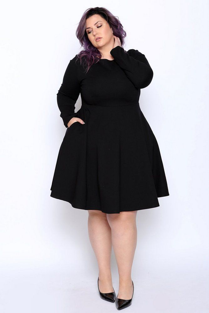 Marie's Style: Because you Need a Plus Size Little Black Dress for Summer thecur…