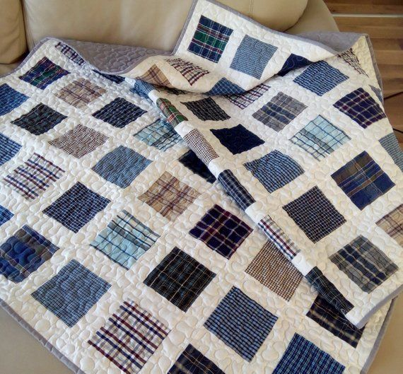 Memory Quilt, Clothes Quilt, T-Shirt Quilt, Baby Clothing Quilt, Keepsake Quilt, Memorial Quilt / DEPOSIT ONLY / Custom made