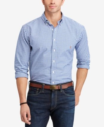 Men's Big and Tall Classic Fit Long-Sleeve Oxford Shirt