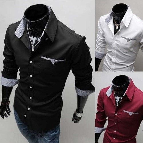 Mens Formal Shirts – Long Sleeve Luxury Dress Shirts