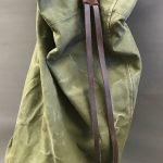 Militaria Canvas and Leather Duffle Bag MIL04