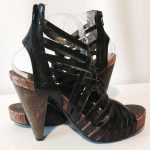 Miss Sixty 'Tracy' Black Leather Sexy Platform SEXY!!! Leather upper, ma...