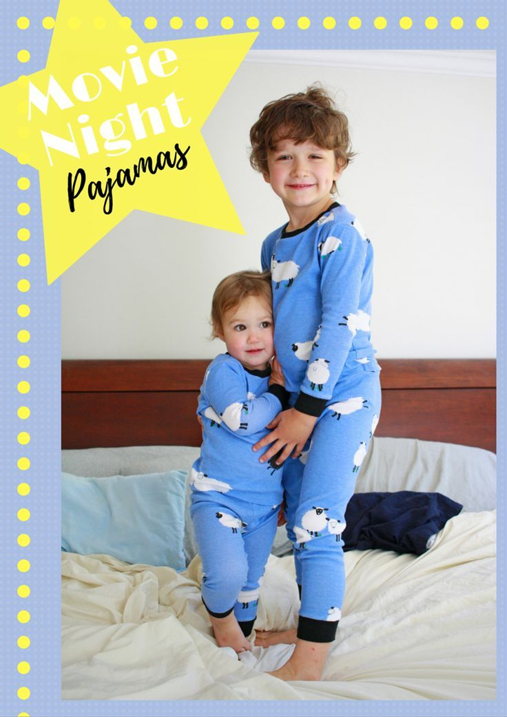 Movie Night PJ Pattern