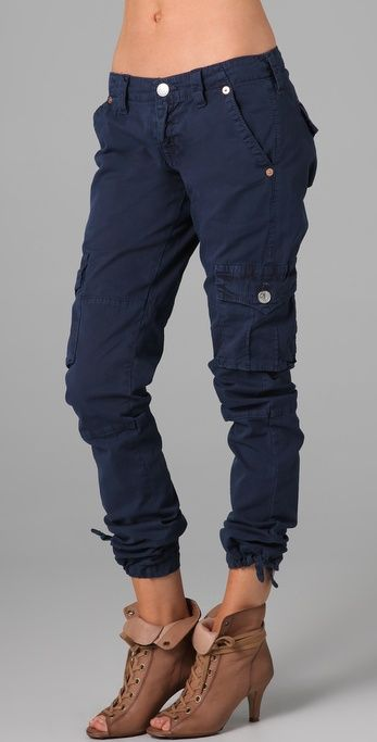 Navy Blue Cargo Pants For Women 9RVNpIgu