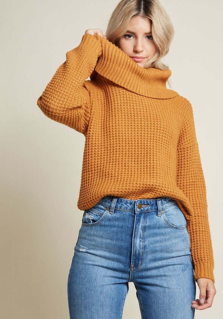 Oh My Cozy Cowl Neck Sweater in 1X