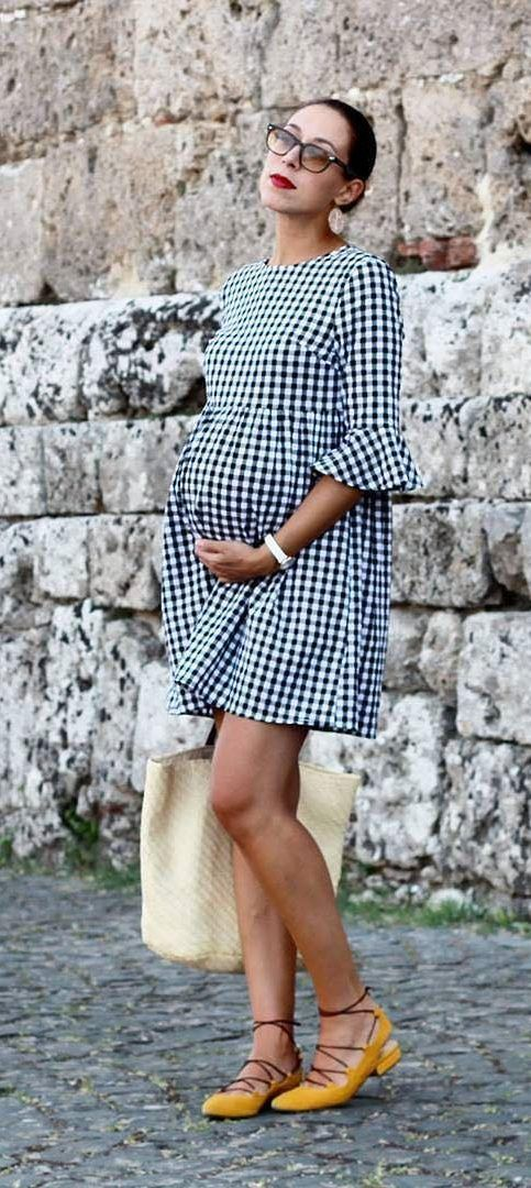 Outfits, Clothes For Pregnant Women Plus Size: Multiplication, New Maternity Dress 2019 – Page 22 of 34