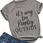 Peopley Outside T Shirt ZK01