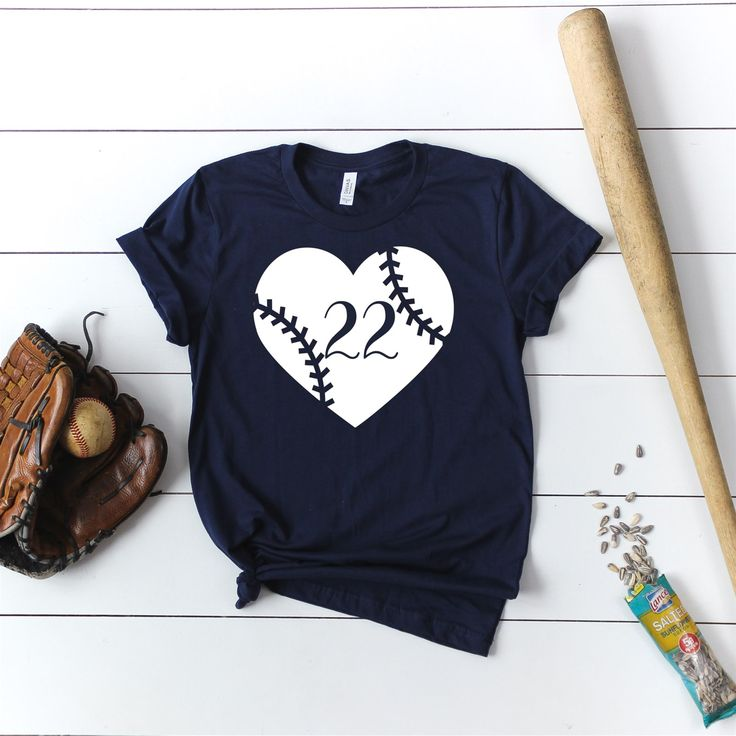 Personalized Number Baseball Shirt