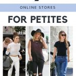 Petite online shops that I love. #shortgirlproblems