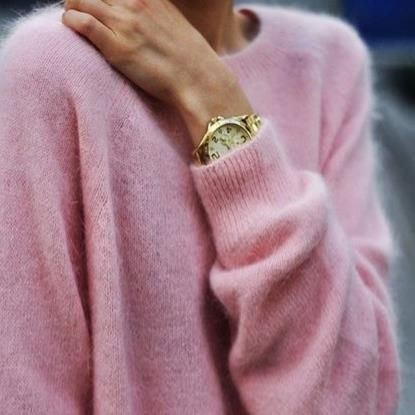 "Pink cashmere! ""Trendy, Unique and Affordable"" – That is the main philosophy at…"
