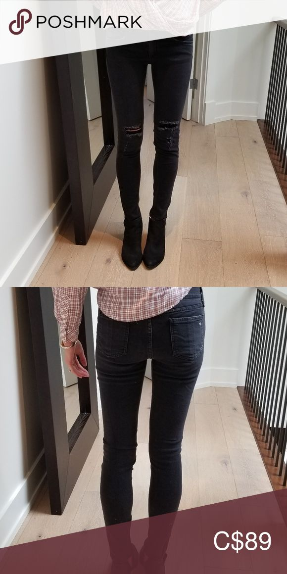 Rag and Bone skinny low rise jeans Rag and bone skinny low rise jeans, size 26, …