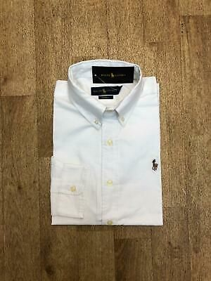 Ralph Lauren Men's Oxford Shirt – Custom Fit – Small White #fashion #clothing #s…