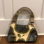Rare Orla Kiely Mini Bag Authentic Pear Print Very Good used condition. Clean in...