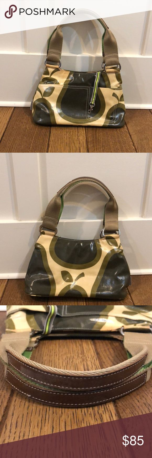 Rare Orla Kiely Mini Bag Authentic Pear Print Very Good used condition. Clean in…